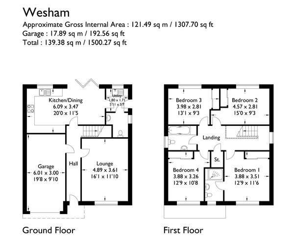 The Wesham - Plots 7, 17 & 18